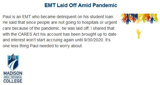 EMT Student Story