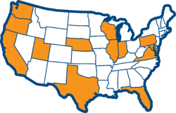 Debt letter map