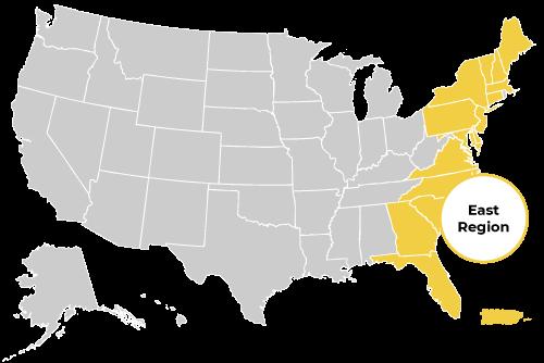 East Regions