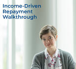 income driven repayment walkthrough