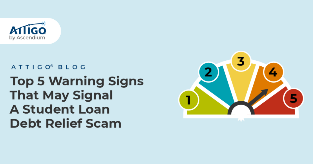 Signs of student loan scams