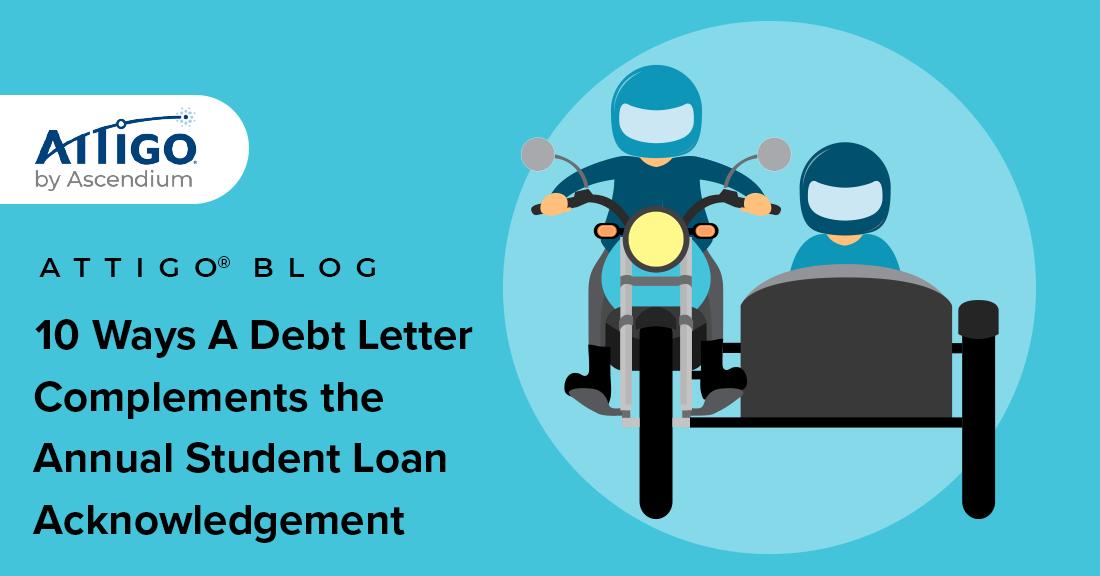 10 ways a student debt letter complements ASLA